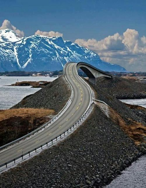 Entertainment The Atlantic Road through Norway