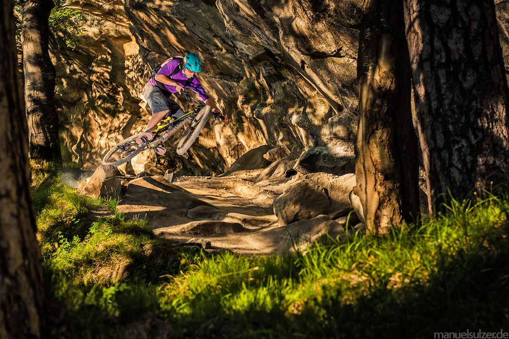 MTB Maxi Dickerhoff in Germany by Hanussen -