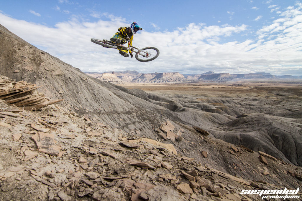 MTB Lucas Cowan in Green River, Utah by The Suspended Crew