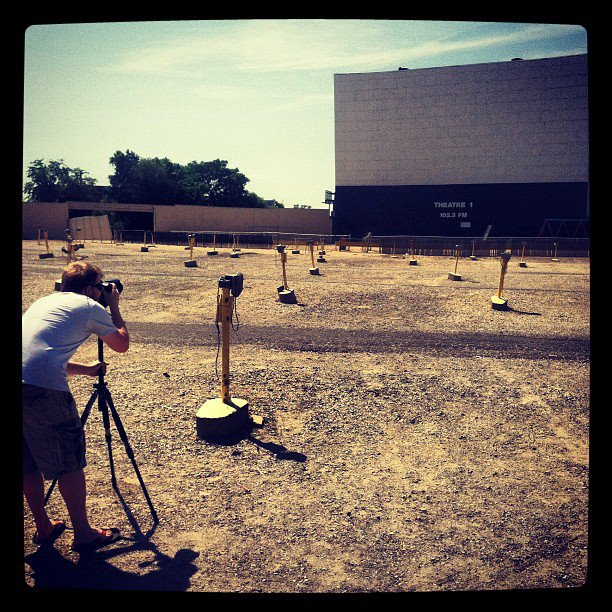 Entertainment Shooting at a drive in this AM. #photoshoot http://instagr.am/p/MYdWwWmeEB/