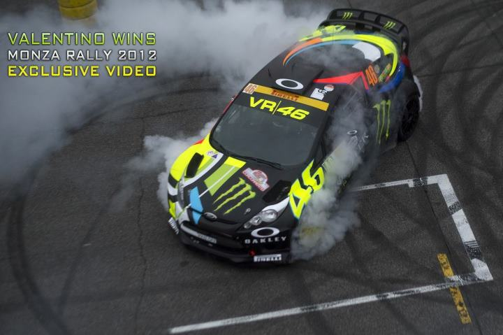 Motorsports Look who's bossing it on four wheels: valentino rossi (the doctor) didn't just win Monza Rally Show, he stormed it. We got the exclusive vid right here.