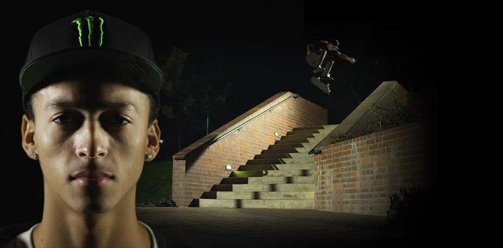 "Skateboard ""When the sun goes down... the city becomes our playground!"" - Nyjah Huston 