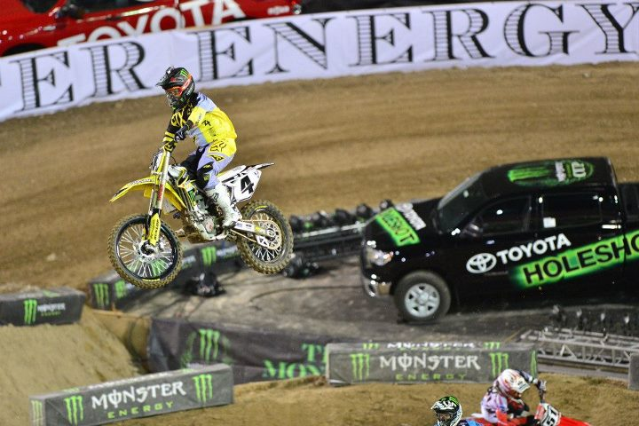 Motorsports Legendary Ricky Carmichael came out and road the track that he designed!