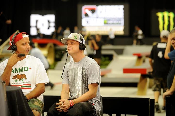 Skateboard Rob Dyrdek - Street League Practice - New Jersey