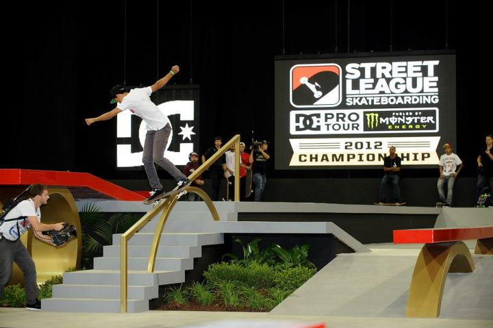 Skateboard Nyjah Huston - Street League Skateboarding Championship - New Jersey