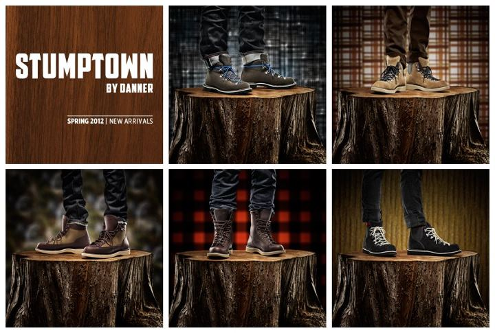 Entertainment New Spring Arrivals from our Stumptown Collection - lightweight, leather lined styles for the warm days ahead. http://stumptown.danner.com/#collection