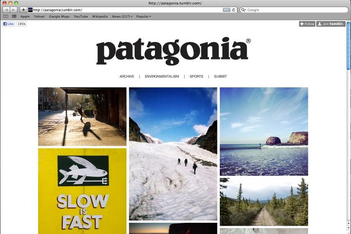 Entertainment Patagonia on Tumblr. Submit your favorite shots here: http://patagonia.tumblr.com/submit