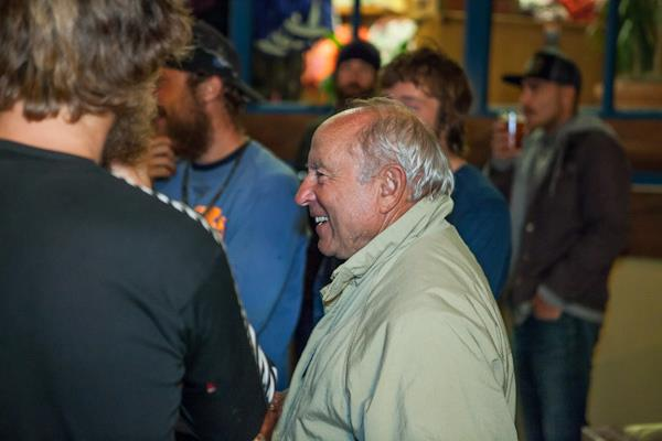 Entertainment Yvon Chouinard was in the house. Photo: Jeff Johnson