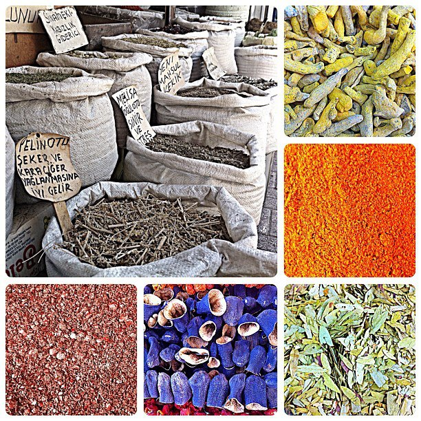 Climbing Central Turkey is a triangle of European, Middle Eastern and Asian cultures, which is clear to see when go shop for food. Always interesting trying to make sense of all the colorful spices, grains and herbs in the canvas sacks. #originalbulkfoods --JT