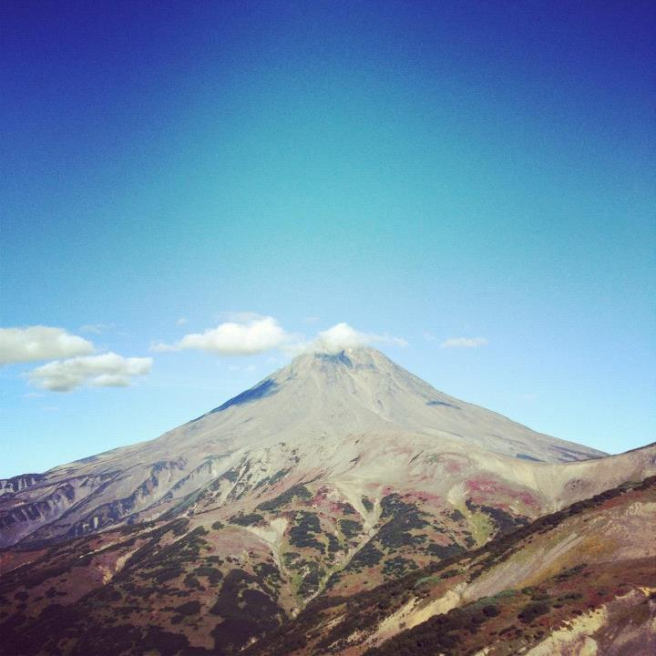 Camp and Hike Volcanoes aplenty in Kamchatka.  Photo by Foster Huntington
