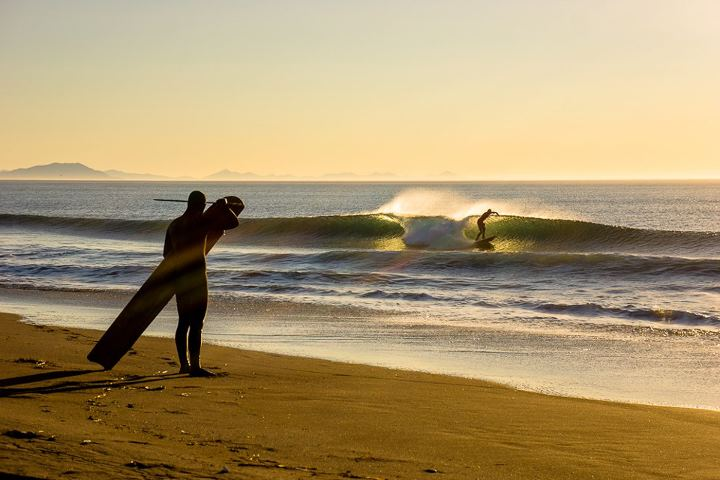 Surf A frames and off shore.  Photo by Chris Burkard Photography