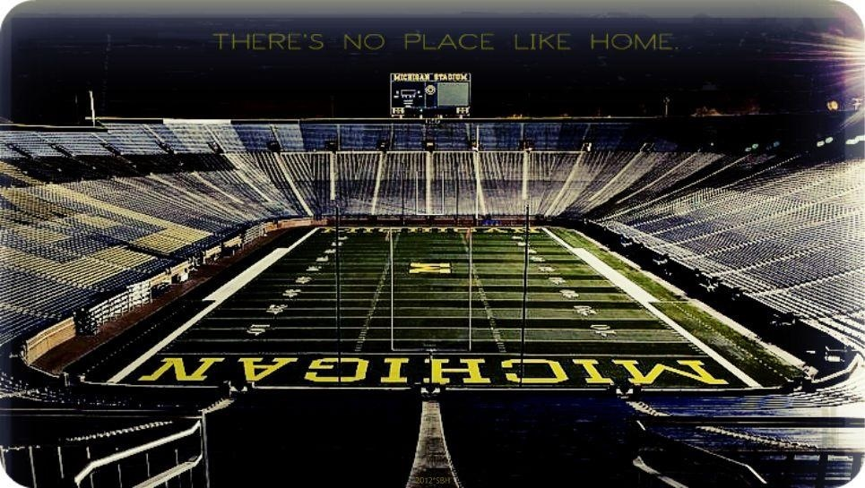 Sports there's no Place like calling the Big House Home