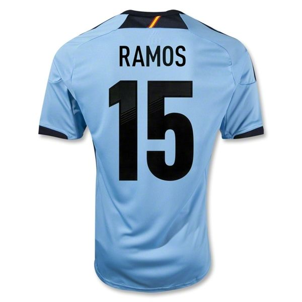 Entertainment Youth RAMOS Spain Away Soccer Jersey 2012/2013