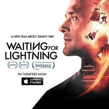 Skateboard It's finally here! Waiting for Lightning, the new film about legendary skateboarder Danny Way, is in US theaters and available on iTunes today at: http://bit.ly/TK0yrX.