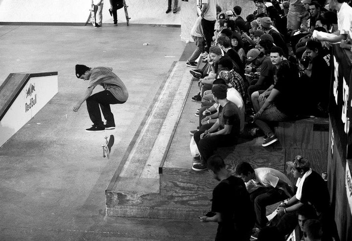 Skateboard Matt Miller switch heel swtich back five-0.