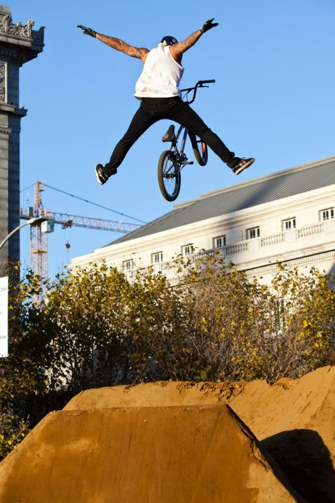 "BMX Corey Bohan doing a ""Nothing."""