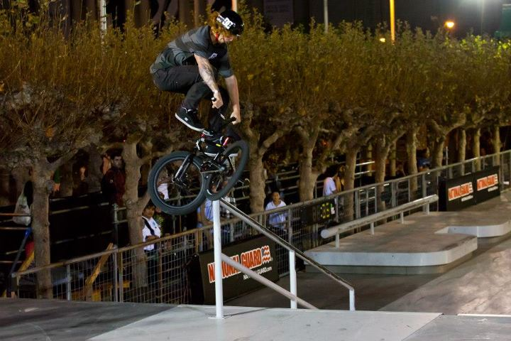 BMX Despite having an ankle that was swollen the size of an apple, Jeremiah Smith put down some big tricks