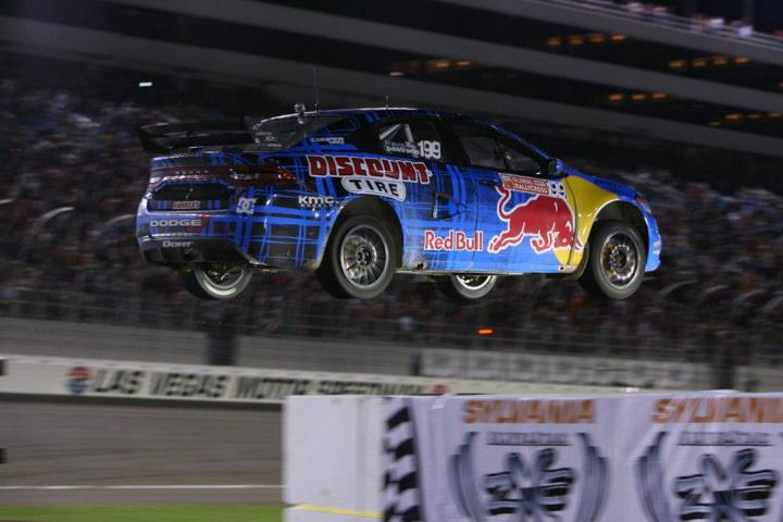 Motorsports Travis Pastrana doesn't mind a little air time.  Photo by Yujiro Otsuki
