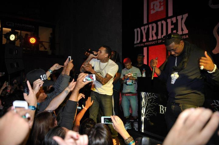 Entertainment Artist, Chris Brown was a surprised guest Saturday night. He performed with Gucci Mane at Rob Dyrdek's Fantasy Factory.