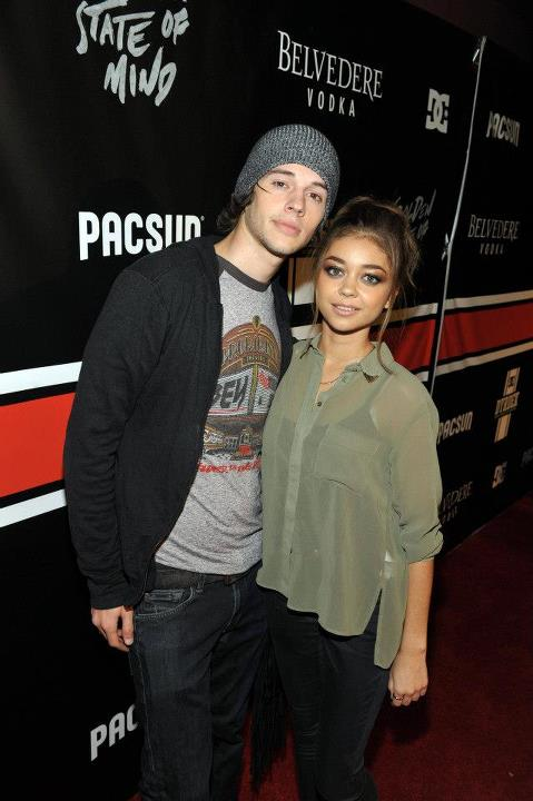 "Entertainment PacSun and DC Shoes Golden State of Mind  Actress, Sarah Hyland and Matt Prokop arrive at PacSun ""Golden State of Mind"" event held at Rob Dyrdek's Fantasy Factory hosted by DC."