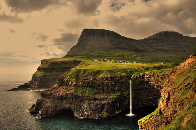 Camp and Hike Gásadalur Village in the Faroe Islands