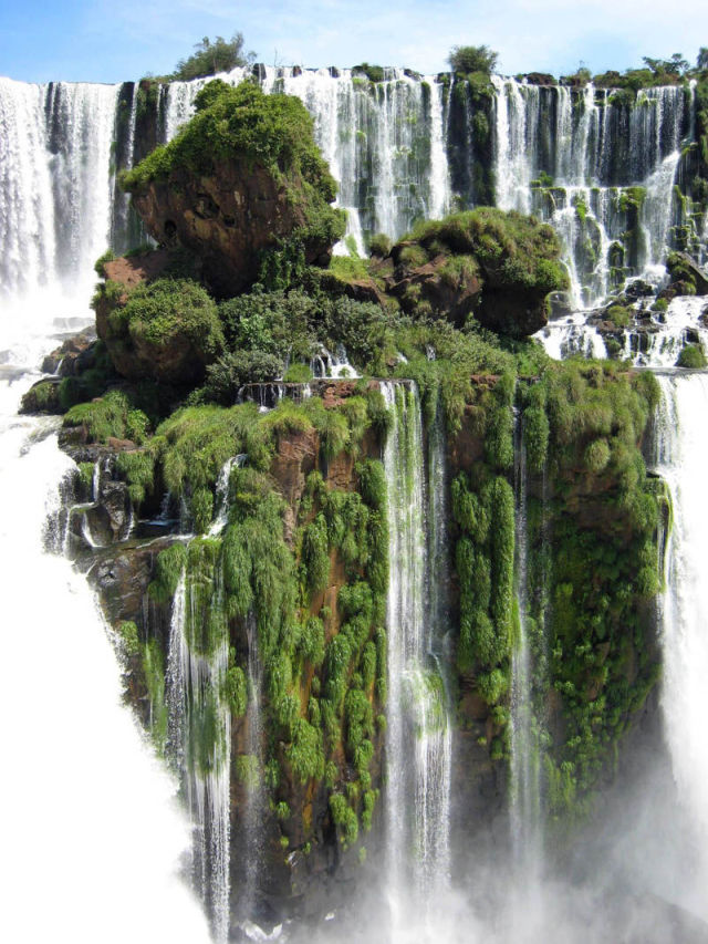 Camp and Hike The Waterfall Island at Iguazu Falls