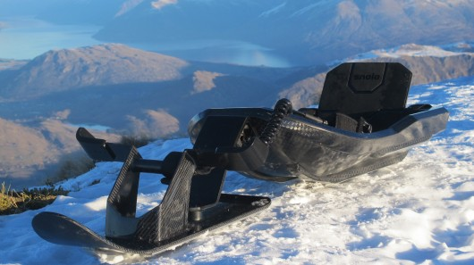 Entertainment The Stealth-X is a carbon fiber sled designed for speed