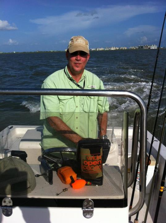 Entertainment WOS premier member, Captain Matt Bullock heads out on Galveston Bay near the San Luis Pass.