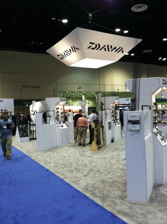 Entertainment Daiwa booth
