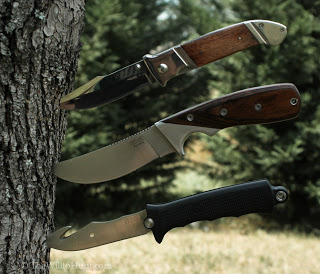 Hunting Will puts a variety of SOG knives through their paces in a recent gear review. 