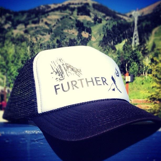 Snowboard Jeremy Jones' Further trailer drops this week. The trucker hat is available now in our online store. http://http://ow.ly/cpD7P