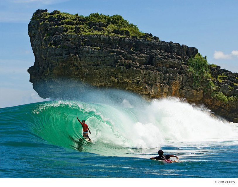 Surf Java, Indonesia. Photo: Childs