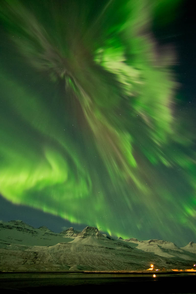Camp and Hike THE MOST INCREDIBLE AURORA OF 2012