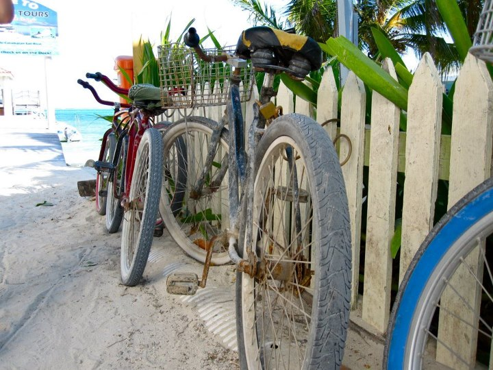 "Entertainment 3rd Place Winner: ""Bikes in Belize"" by Sara Kennedy. Sara shot this fantastic photo in Belize while she was studying abroad."