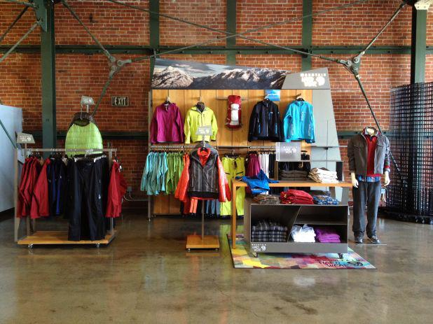 Entertainment From our Buyers: A sneak peek of Mountain Hardwear's Branded environment at their headquarters. http://ow.ly/i/Hh6x