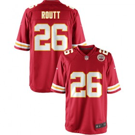 Entertainment Youth Nike Kansas City Chiefs Stanford Routt Game Team Color Jersey