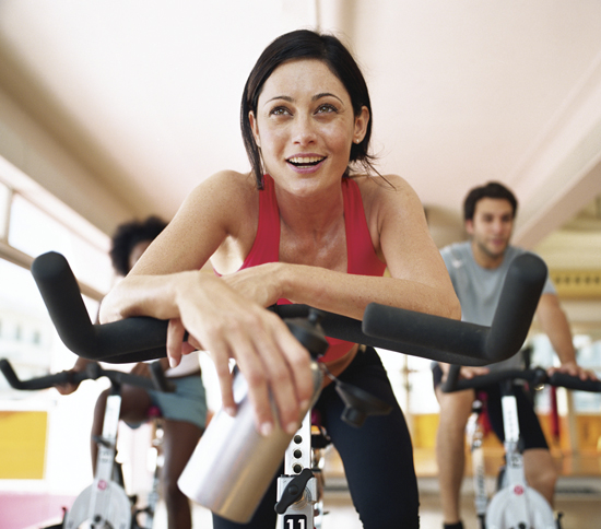 Fitness 20 minutes of moderate exercise on a bicycle per day can have dramatic effects on lowering stress and anxiety levels.