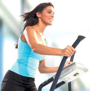 Fitness Fitness Tip: Elliptical machines offer a upper- and lower-body workout simultaneously.