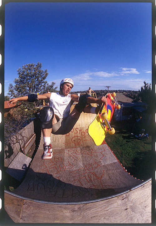 Skateboard Slob fastplants are hard tricks—and when done by Lee Ralph, they're classics