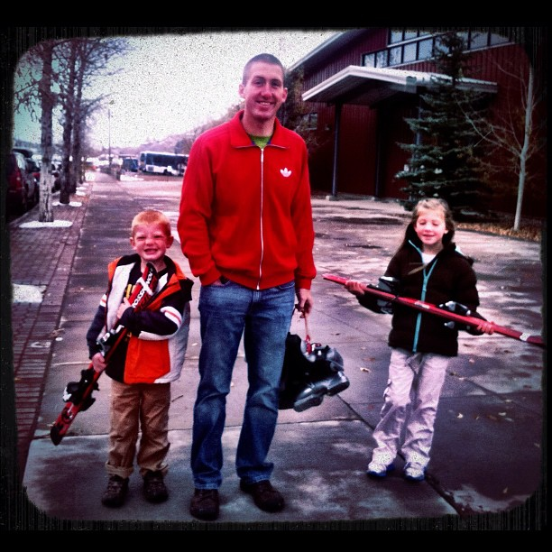 Scoring big at the #JacksonHole #SkiSwap  http://instagr.am/p/RS7G3YsACP/