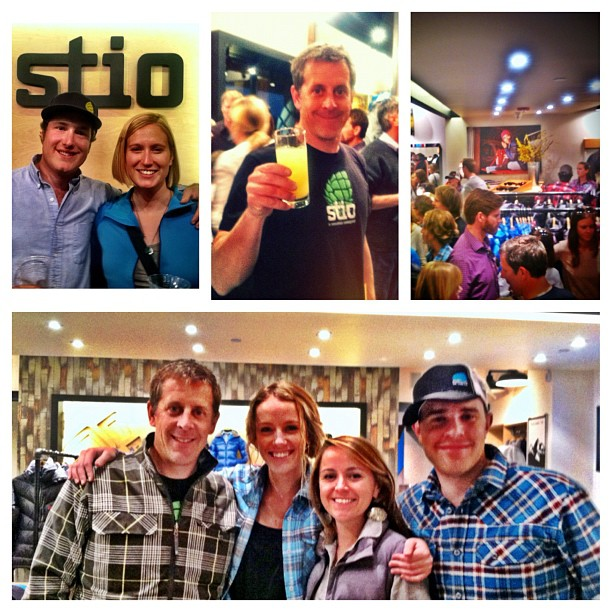 Fun times at the #Stio Grand Opening http://instagr.am/p/QsMneDsAOb/