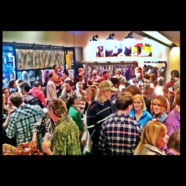 Awesome turn out at the Stio Mountain Studio Grand Opening!  http://instagr.am/p/QsCtnXsAHS/