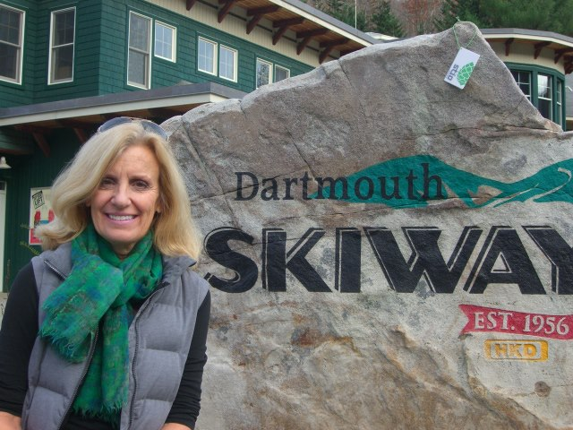 Entertainment Westbanker spotted on the Dartmouth Skiway! http://www.stio.com/womens-westbanker-vest