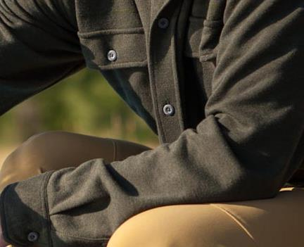 Entertainment The Basis Shirt - a sharp looking button down that doubles as a technical base layer. Smart and sexy!