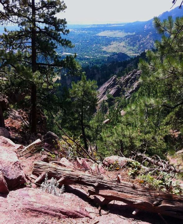 Camp and Hike Town favorite, Mount Sanitas, in Boulder, CO