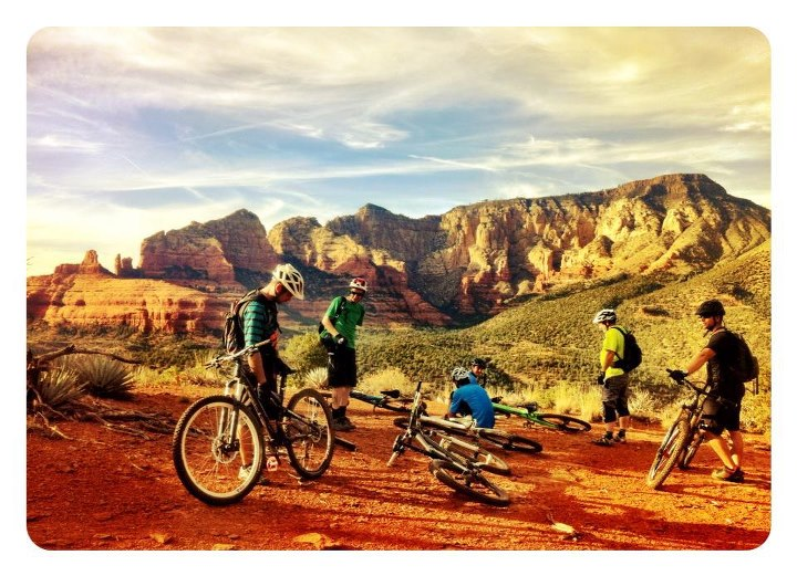MTB What a day! Life is good in Sedona. Test bikes are on rotation, perfect weather, and great trails!