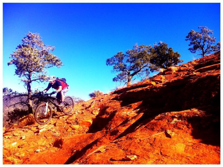 MTB RC testing the Liteville 301 on some Sedona goodness.