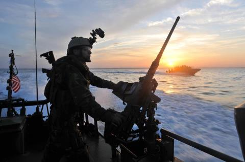 Guns and Military On 18 December 1965, the River Patrol Force was established in Vietnam.