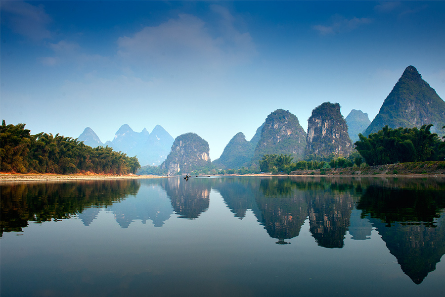 Kayak and Canoe Li River in Guilin - China