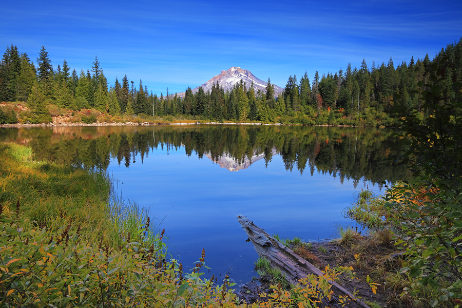 Camp and Hike Mt. Hood from Mirror Lake, Oregon